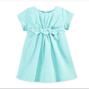 EUC Teal Cotton Dress with Bloomer. EUC